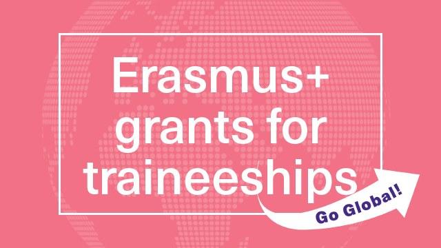 Erasmus grants for traineeships