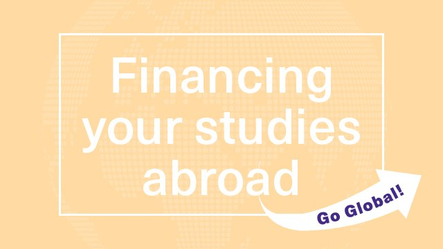 Financing your studies abroad