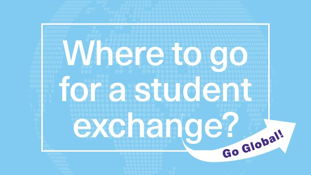 Where to go for a student exchange
